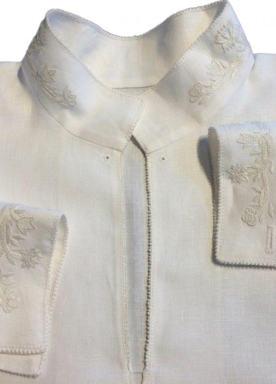 Nordlandsbunad skjorte